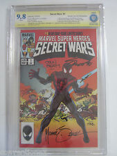 CBCS Grade 9.8 Marvel Super Heroes Secret Wars #1 Heroes Con Exclusive Signed