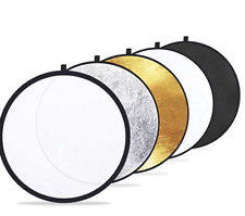 """Etekcity 24"""" (60cm) 5-in-1 Photography Reflector Light Reflectors for Photograph"""