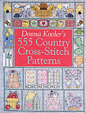 Donna Kooler's 555 Country Cross stitch patterns by Donna Kooler (livre de poche,...