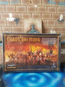WARHAMMER GAMES WORKSHOP CITADEL CHAOS DAEMONS BLOODLETTERS OF KHORNE NEUF
