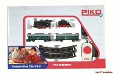 Start-Set Personenzug mit Dampflok Piko 57110 Neu H0 1:87