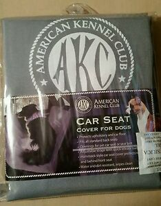 AKC Car Seat Cover For Dogs New American Kennel Club