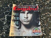MARCH 1991 ESQUIRE mens fashion magazine JIM MORRISON - DOORS