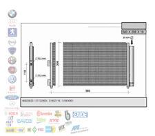 CONDENSATORE RADIATORE CLIMA FIAT PUNTO IDEA LANCIA MUSA 1.3 1.9 MULTIJET 43057