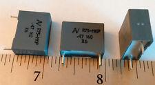 5X KEM R75 MKP 160V 0.47UF 470nF Metallized Polypropylene Film Capacitor 5pcs