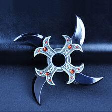 Shuriken ADHD Toys Hand Spinner Fidget Metal EDC Bearing Rotating Darts Naruto