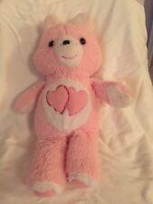 "Love-a-Lot Bear Care Bear CareBear - Vintage from early 1980's - 18"" Tall"