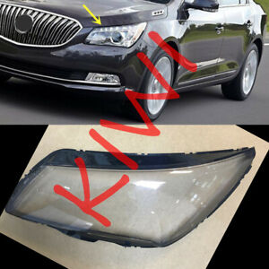 1*Left Side Headlight Cover Transparent PC With Glue for Buick Lacrosse 2013-15