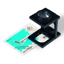Folding 10 x Magnifier - Hand Reader in Wallet - Lighthouse Product