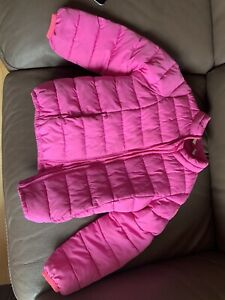 Girls Gap Coat, Age 5 Years, Pink, Padded,