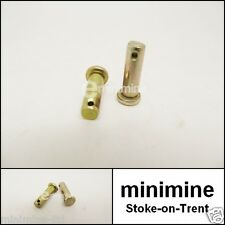 Classic Mini Door Check Strap Stay Arm Clevis Pin PAIR CLZ412 cooper austin 1275