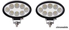 2X 24W 12V 24V LED WORK FLOOD LAMP LIGHT JOHN DEERE VALTRA FENDT BOBCAT TRACTOR