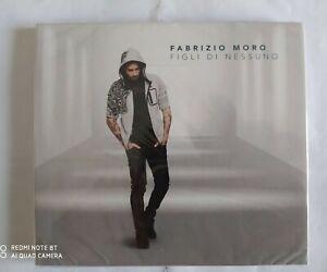 """FABRIZIO MORO """"FIGLI DI NESSUNO"""" (2019) CD NUOVO E SIGILLATO !!!"""