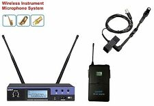 UHF True Diversity PRO Wireless microfoon Instrument System with Beta 98H/C