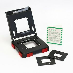 Durst Sivoneg Adjustable Negative Carrier M601 w/ Sivopar 35 Sixma Sivoma Masks