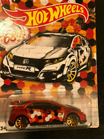 Hot Wheels 2020 ´16 Honda CivicType R HW Racing Club Selten 2/5 OVP Brandneu LT
