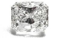 Certificate 1.01ct Radiant Excellent Cut G Color Si2 Clarity Natural Diamond