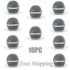 New 10PC Ball Head Mesh Mic Grille Fits For shure SM58 Beta58/Beta58a microphone