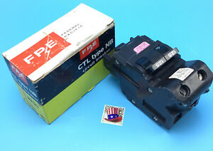 New Circuit Breaker FPE Federal Pacific FPE 125 Amp 2 Pole Bolt On Type NB NB125
