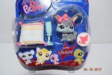Littlest Pet Shop #993 -- Sassiest Angora Bunny --- Age 4+, HTF, Rare, NIP