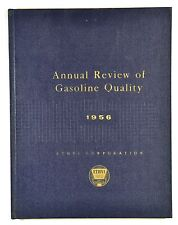 Vintage Ethyl Gasoline Book. Quarterly Review of Gasoline Quality. NICE! c.1956.