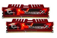 16GB G.Skill DDR3 PC3-12800 1600MHz RipjawsX Series for Intel/AMD CL10 Dual kit