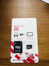Carte Mémoire Tf Flash Micro Sd 128 Go Camera Sdhc Sdxc Adaptateur Class 10 Neuf