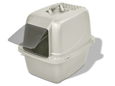 New listing Cat Pan Litter Box Covered Tray Kitten Large Enclosed Hooded Hidden Toilet New