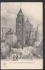 France Postcard - Abbaye De Saint-Seine, d'Apres Une Vieille Lithographie  B1183