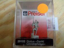 "H0 Preiser 29102 Statue ""Saint Saint christophe"". Figure. EMBALLAGE D'ORIGINE"