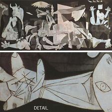 "50""x22"" GUERNICA by PABLO PICASSO - CLASSIC MASTERS Repro CANVAS"