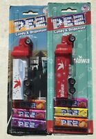 PEZ WaWa Trucks on Blister Cards Years 2019 & 2020