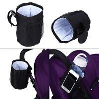 Universal Milk Bottle Water Cup Holder Stroller Pushchair Buggy Pram Bicycle wy
