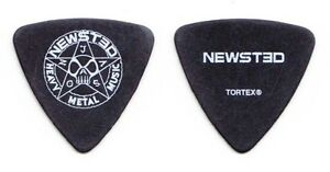 Newsted Jason Newsted Black Signature Bass Guitar Pick 2013 Tour Metallica