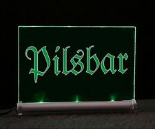 LEUCHTSCHILD  Pilsbar  - LED beleuchtet - Display sign