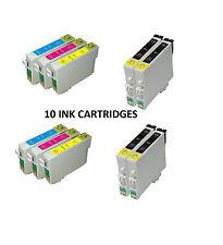Ora inchiostro 10 x non OEM sostituzione per T0711H T1002 T1003 T1004 To711h 4 b1100