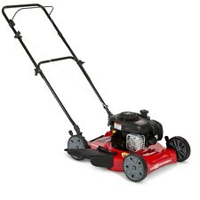 NewHyper Tough 20 inch Side Discharge Push Mower with Briggs and Stratton Engine