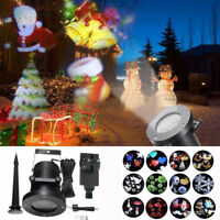 Moving LED Laser Projector Light Landscape IP65 Outdoor Xmas Party Garden Lamp