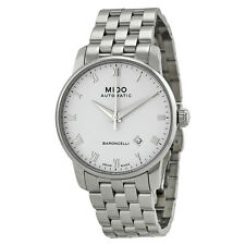 Mido Baroncelli Automatic White Dial Stainless Steel Mens Watch M86004261-AU