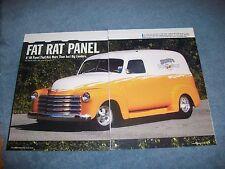 "1948 Chevy Panel Truck Custom Pro Street Article ""Fat Rat Panel"""
