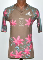 PARIS SF FRANCE RUGBY UNION SHIRT JERSEY ADIDAS SIZE S ADULT
