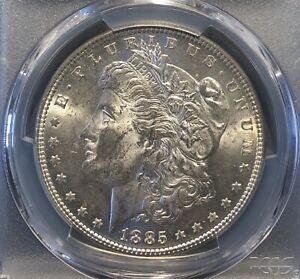 1885 Morgan Dollar MS62 PCGS NO RESERVE AUCTION.