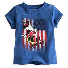 Disney Minnie Mouse Americana Tee for Baby  18 to 24 months
