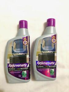 2-Pack Rejuvenate Outdoor Color Restorer For Faded Sun-Damaged 16 oz