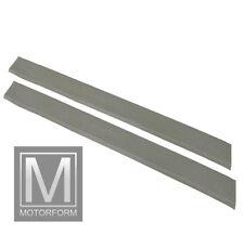 Mercedes SL SLC W107 Einstiegsleisten Schweller Leisten grau neu Beläge Belag