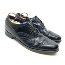 Florsheim Men's Full Brogue Wingtip Oxford Black Lace Up Dress Shoes Size 12