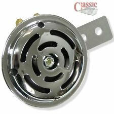 12 Volt Chrome Horn Ideal For Classic Rover Mini's