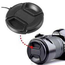 37mm Front Lens Centre Pinch Snap-On Hood Cap Cover For DSLR SLR Cameras