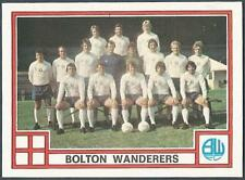 PANINI FOOTBALL 78 #383-BOLTON WANDERERS TEAM PHOTO