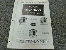 Eisemann 82D 82F Magneto for Neptune Outboard 10A16 Shop Service Repair Manual